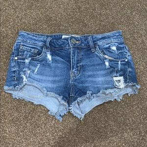 RSQ Cabo cut off jean shorts